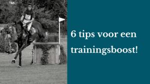 6 tips voor een trainingsboost