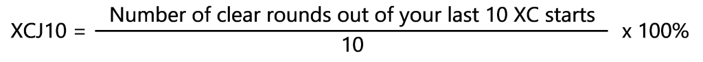 EquiRatings XCJ10 Calculation